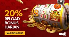 20% Weekend Reload Bonus For BK8 Vip Slots